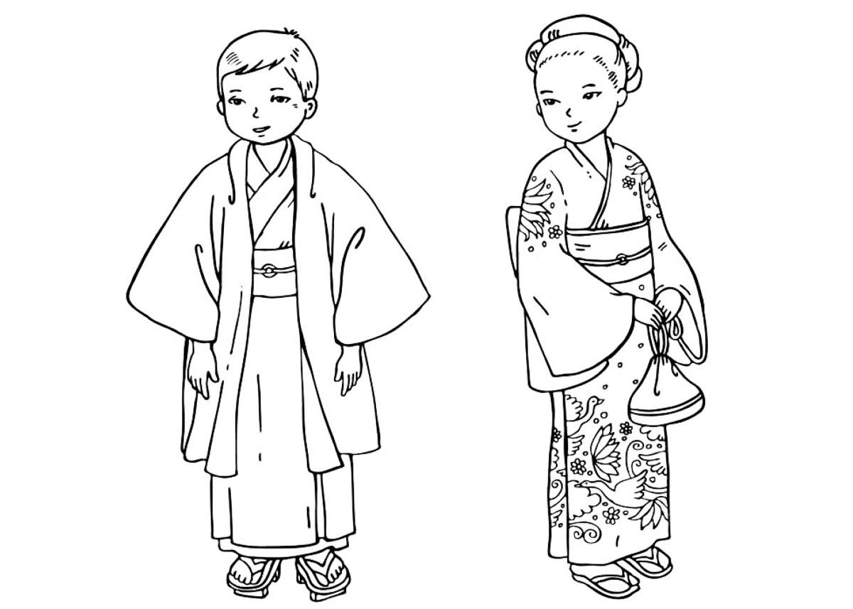 Disegni da colorare bambini giapponesi - Cool colorare le pagine da colorare per i bambini ...