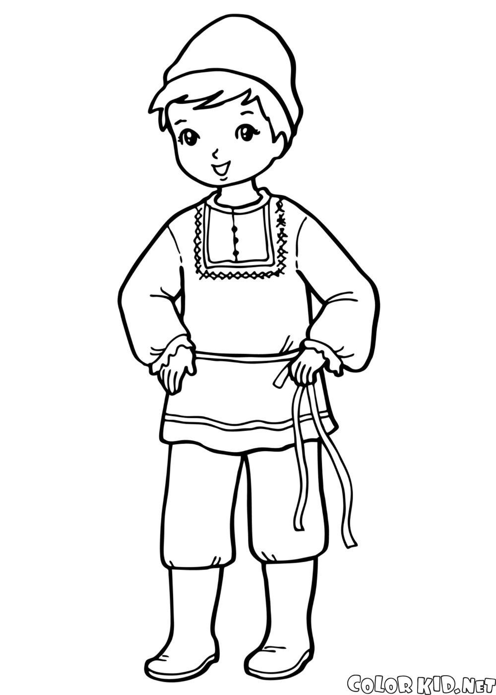 Disegni da colorare il ragazzo in costume nazionale - Mike le pagine da colorare cavaliere ...