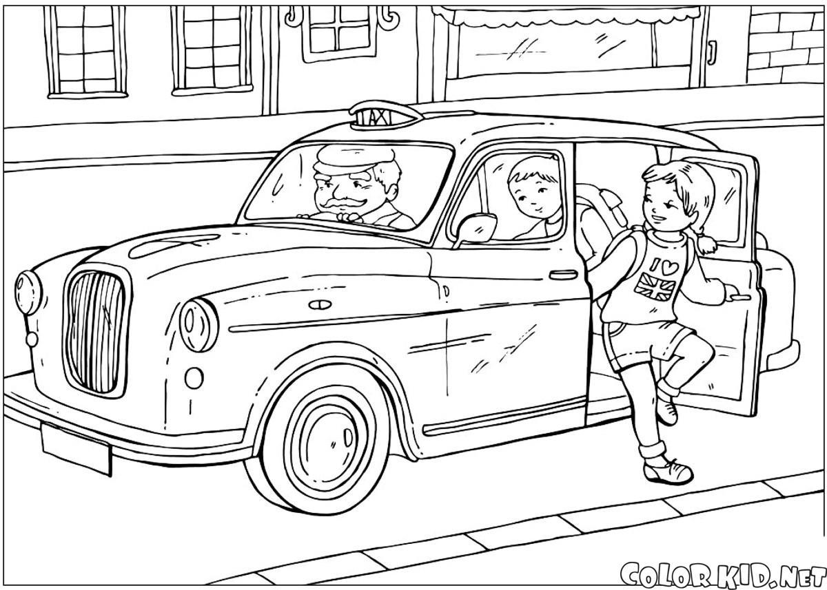 Taxi britannico
