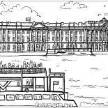 Palazzo dInverno a San Pietroburgo